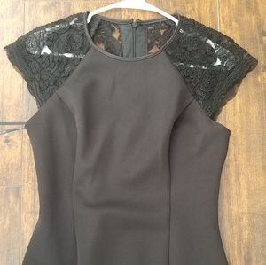 Vince camuto black cocktail dress